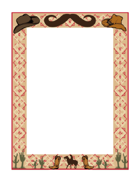 western page border designs - Google Search | western classroom ...
