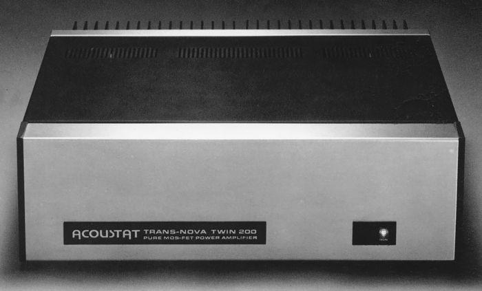 ACOUSTAT TNT-200 1983 | VINTAGE HIFI