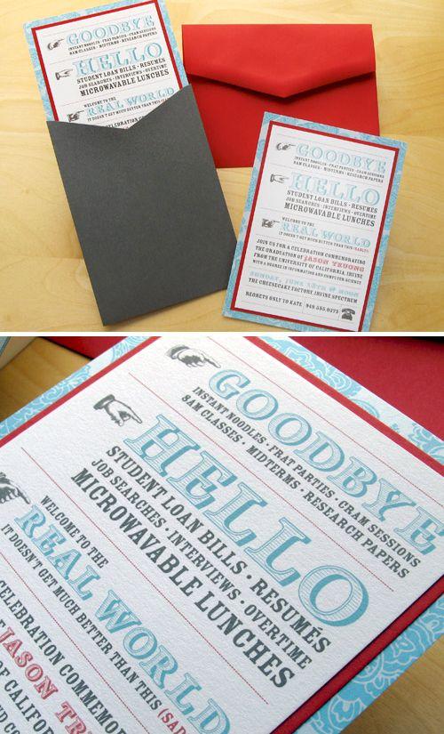 78 Best images about Graduation Ideas – Cool Graduation Invitations