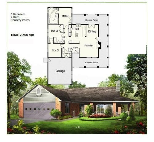 Steel Frame Prefab Home DIY Framing Kit NS5064 1,986 sq ft 3BR 2BA ...