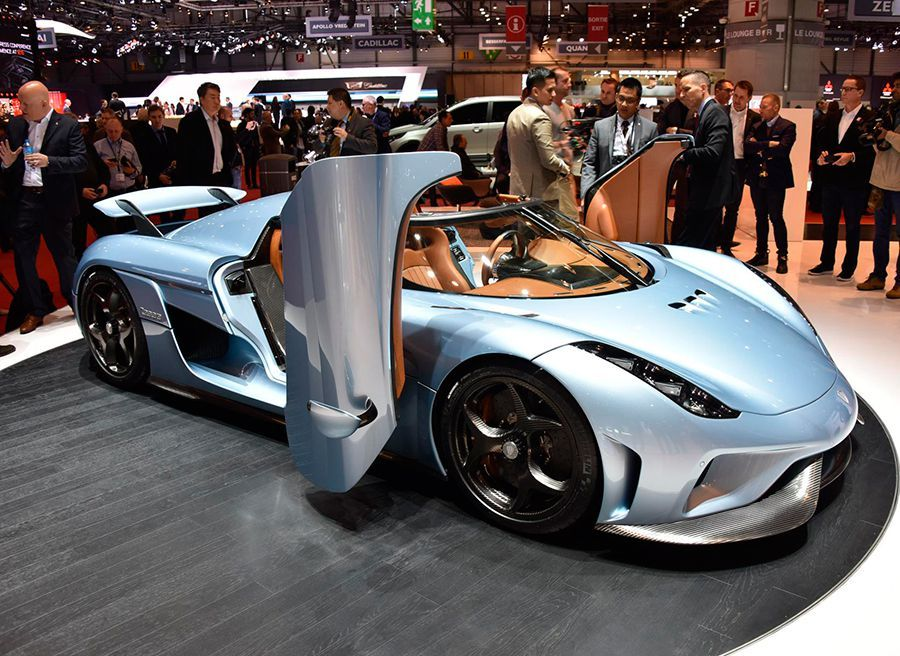 Koenigsegg Regera híbrido Salón de Ginebra 2015