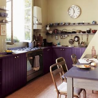 I want to repaint my cabinets this color!