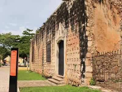 Convento de San Bernardino, Valladolid Yucatán