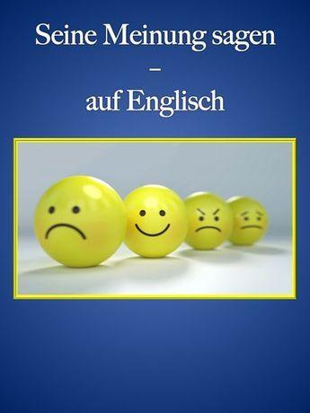 Meinung Auf Englisch