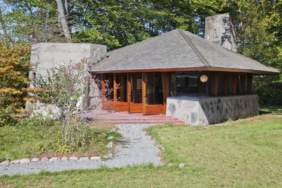 Stylish frank lloyd wrights heart island house on architecture with frank lloyd wrights heart island house pictures