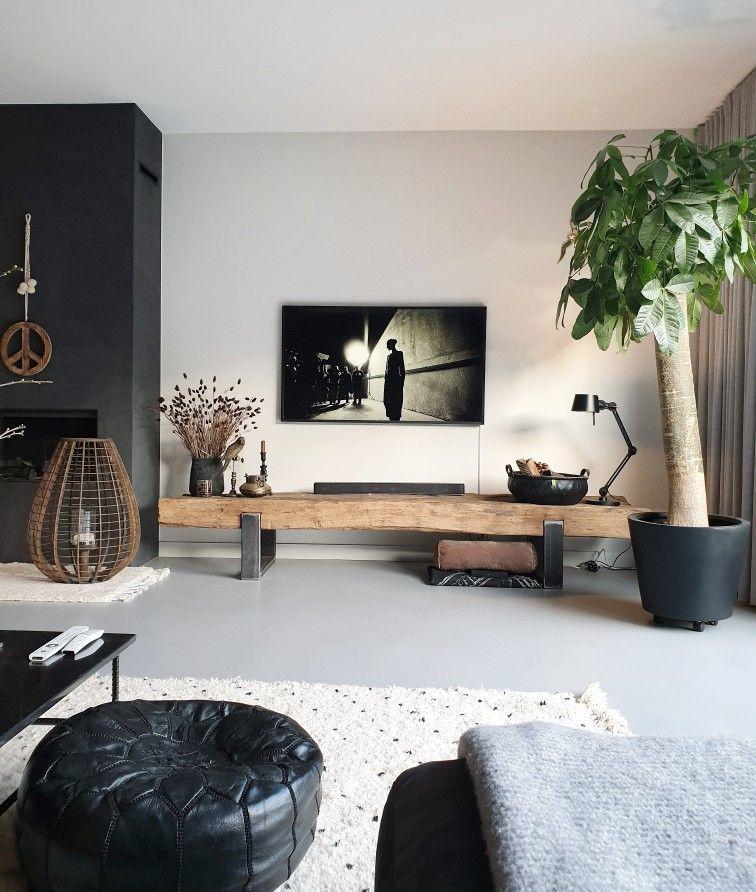 Tv Hoek Interieur Woonkamer Huis Interieur Woonkamer Decoratie