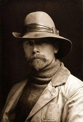 Edward Curtis, photographer famous for his stills of Native Americans.