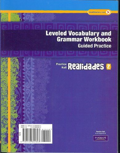 Realidades: Level 2: Vocabulary and Grammar Workbook C2011 (NATL)
