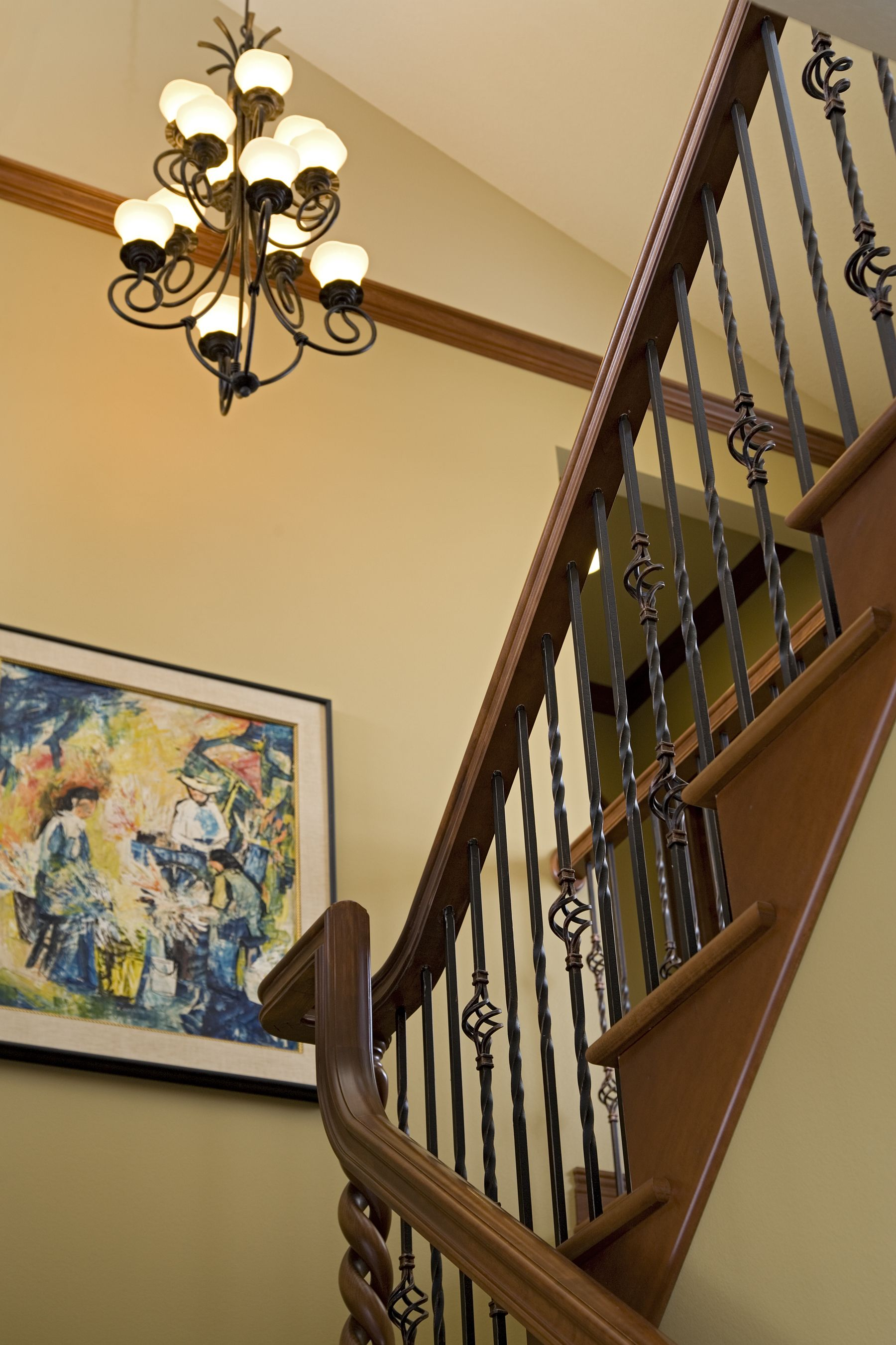 Interior Products | Forged Iron Stair Parts, Prefinished Handrail, Treads  And Newel Posts Complete