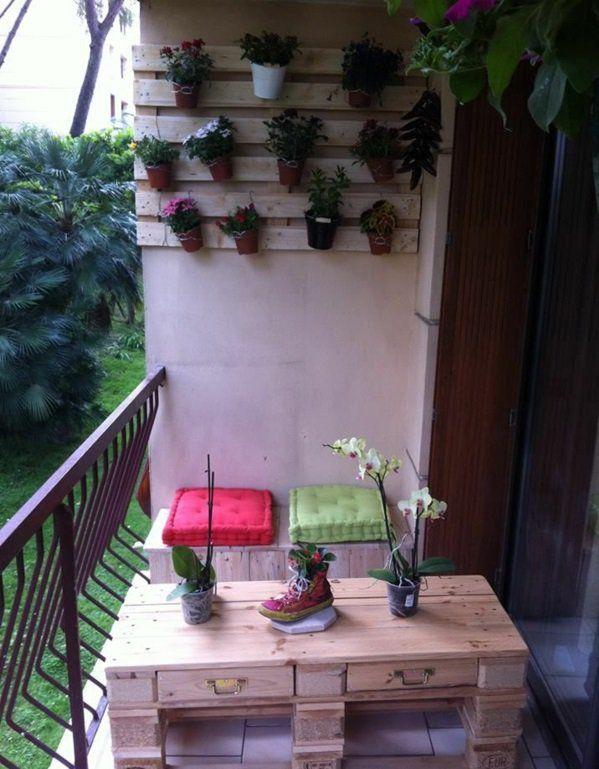 mobel aus paletten fur balkon, ▷ 1001+ möbel aus paletten - schöne wohnideen für sie | hobby, Design ideen