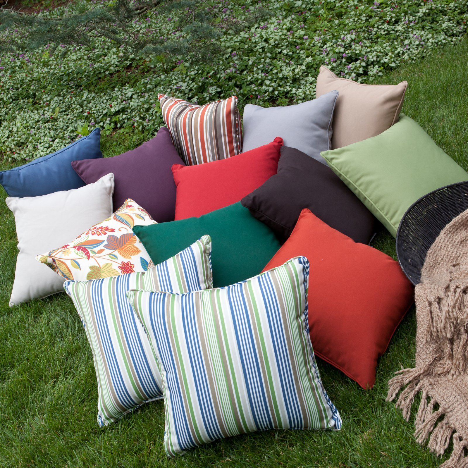 Coral coast x outdoor toss pillows set of home décor