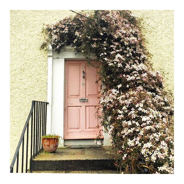 On Wednesdays we admire pink doors (especially those with cherry blossoms) #doorsofinstagram # & The New Neutral That Is Taking Over Homes Across the Country | Doors ...