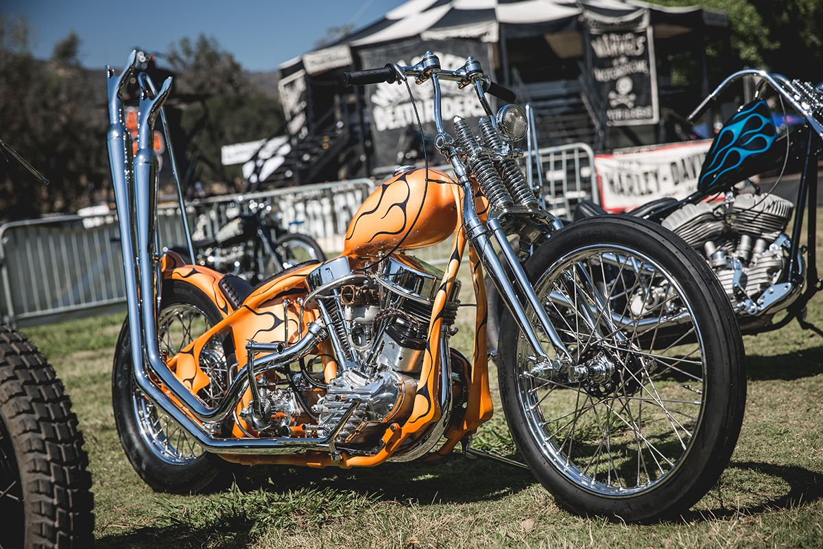 Lowbrow Customs At Born Free 8 | motorcycles | Chopper bike