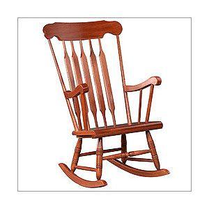 Indoor Rocking Chair Wood Rocker