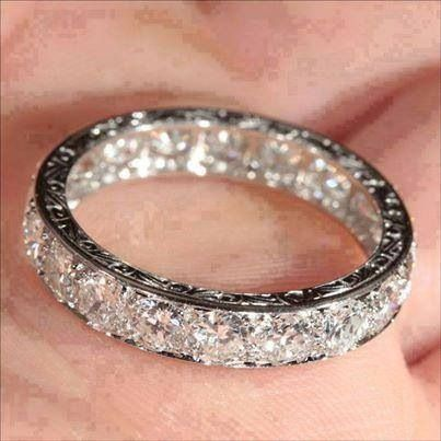 Amazing Would Wear This Everyday For The Rest Of My Life Eternity Ring Diamond Engagement Rings Bling