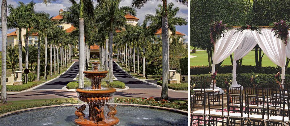 Top 5 Outdoor Wedding Venues In Florida The Ritz Carlton Resort Of Naples Celebration Society