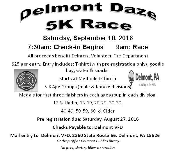 Get Your Registration Form At The Delmont Library  Events