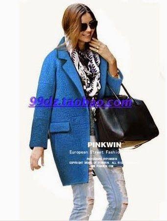 Еще одна выкройка от любителей шитья из Китая Printable A4 Пальто размер Китайский М \Coat  size M Chinese