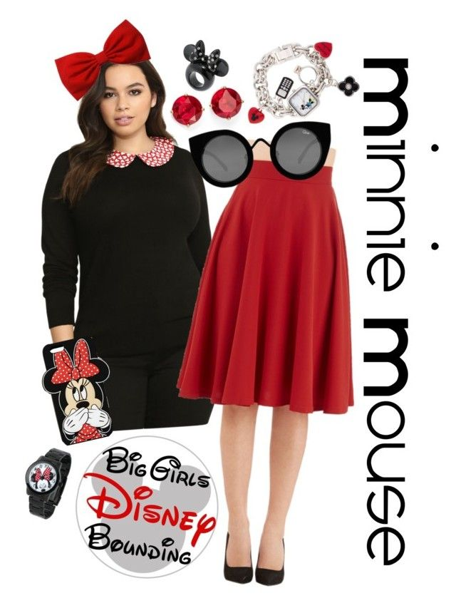 Plus Size Minnie Mouse Disney Bounding by bgdisneybound on Polyvore ...