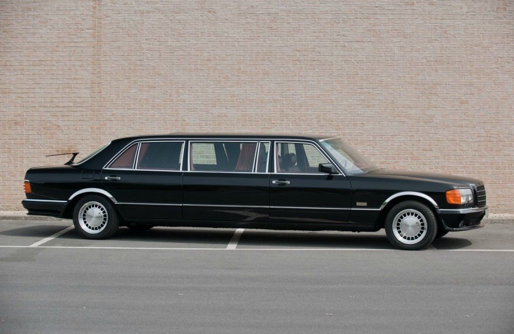 Mercedes benz w126 1000sel stretch limo limousines for Mercedes benz limo