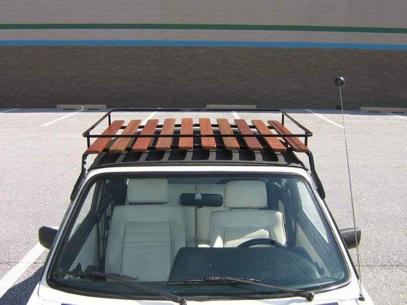 Photo By Sean Uhler Roof Rack Cabriolets Volkswagen Golf Mk1