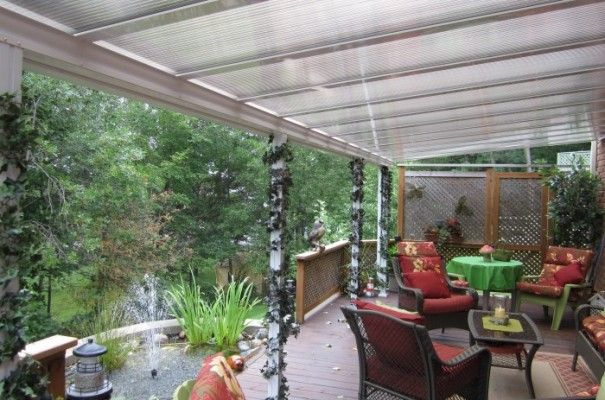 Clear Or Translucent Patio Covers And Sunroom Glazing | Polycarbonate Vs  Acrylic