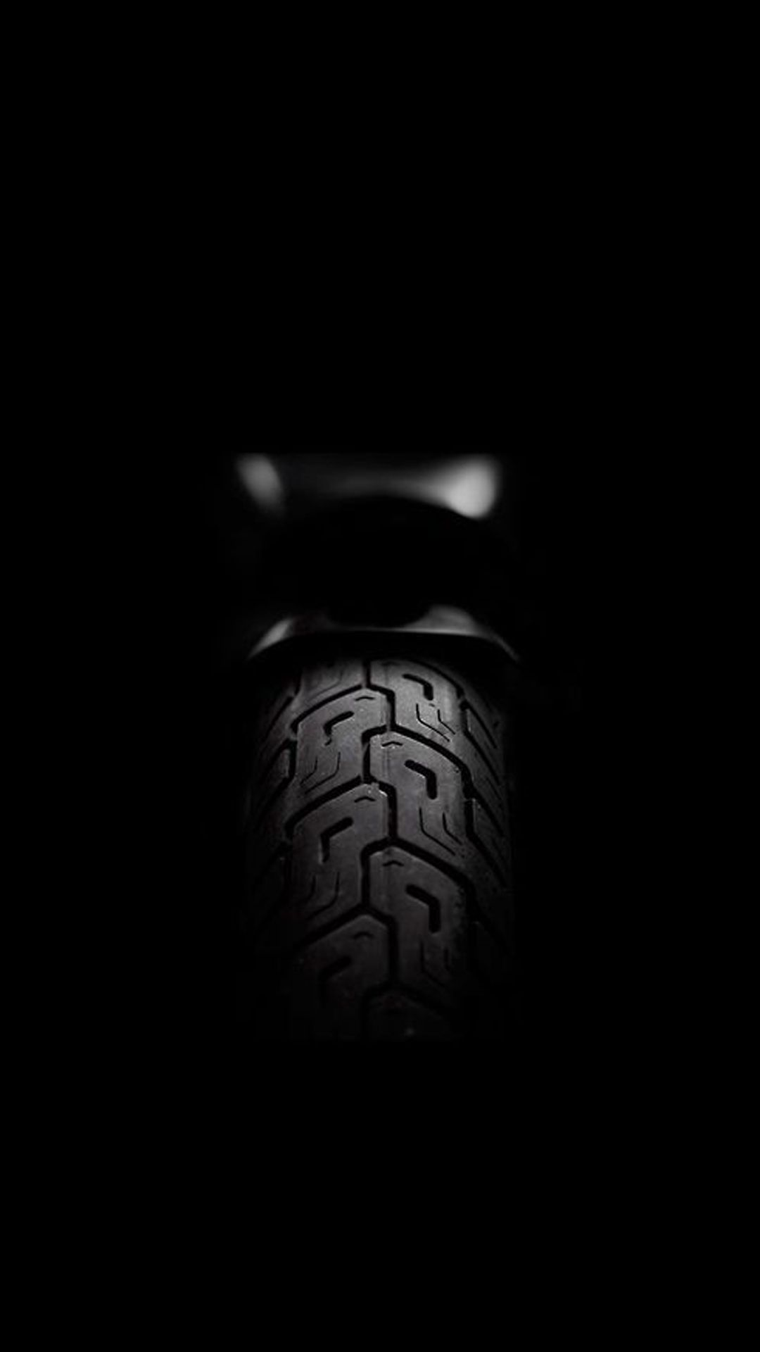 Motorcycle Rear Tire Dark iPhone 6 wallpaper