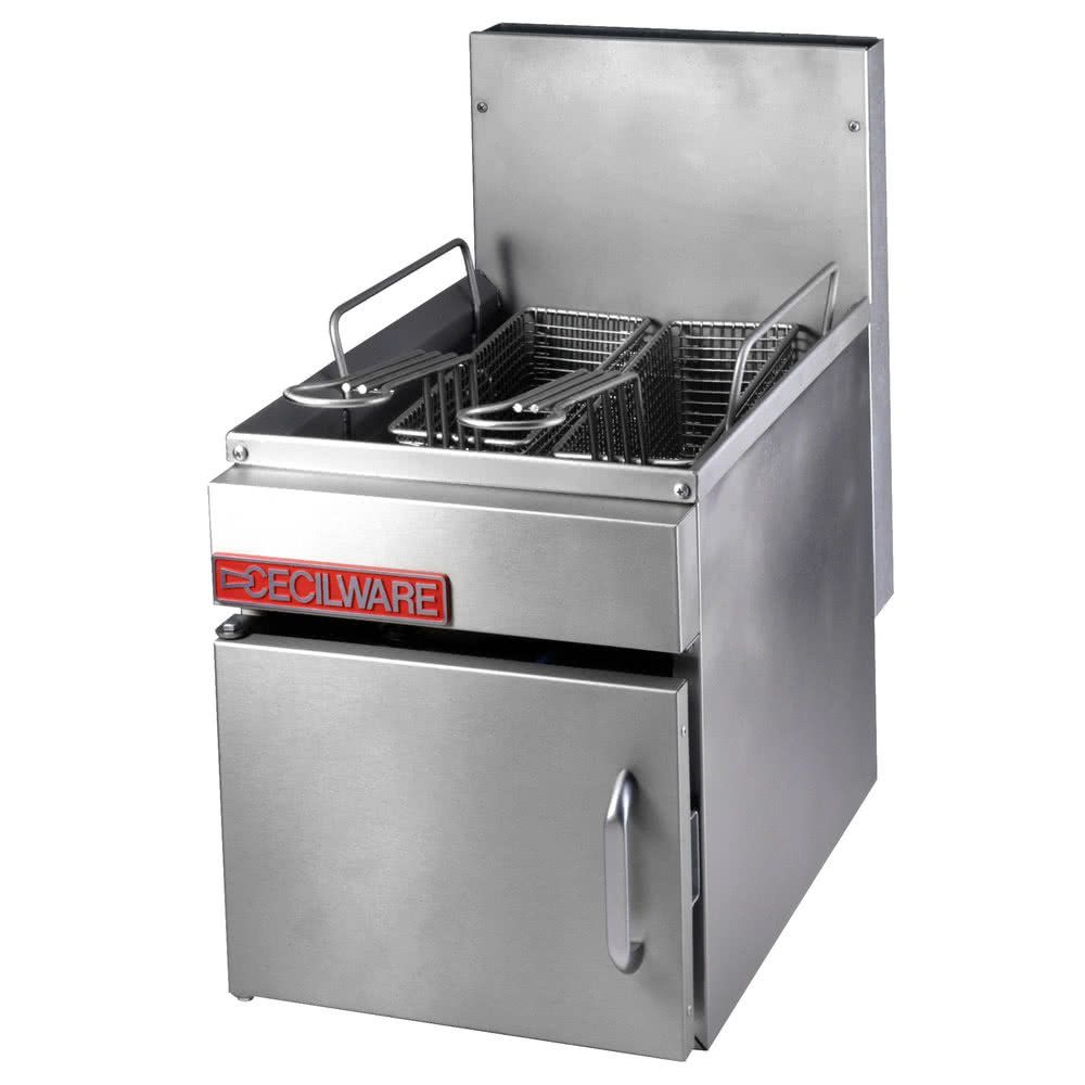 Cecilware Gf 10 Liquid Propane 13 Lb Countertop Fryer With