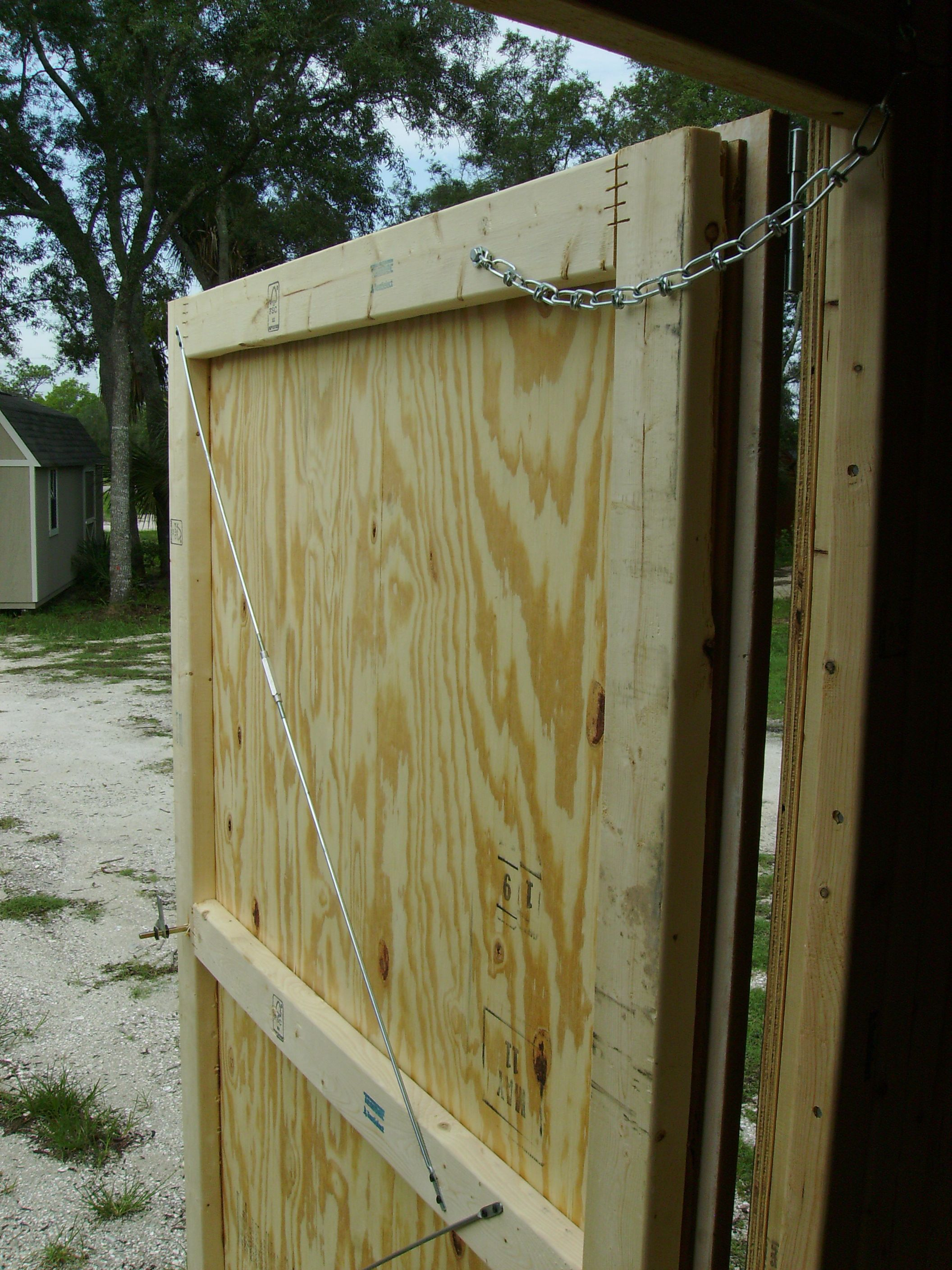Exterior Plywood Shed Doors | http://thefallguyediting.com ...