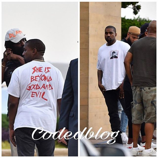 She Is Beyond Good And Evil Kanye West Shades Taylor Swift With Bold T Shirt Slogan As Their Feud Continues Kanye W Insta Fashion Slogan Tshirt Kanye West
