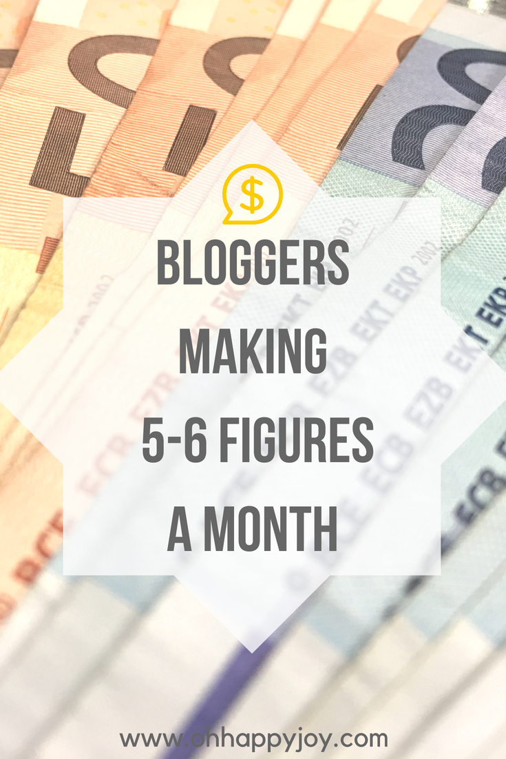 12 Bloggers Making 5 6 Figures A Month Bloggers That Quit Their Corporate Jobs Bloggers Making 5 Figures A Month Bloggers Making 6 Figures A Month