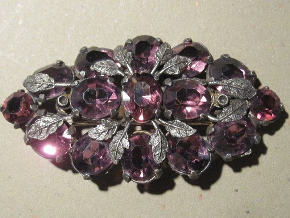 Vintage broach accessories - oh my!