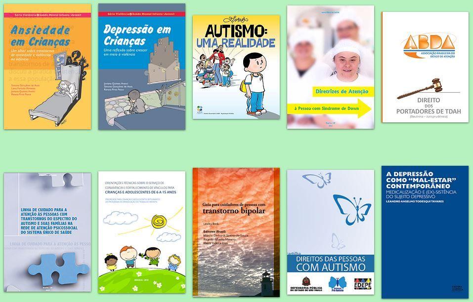 A Rede c@ps – Projeto de Apoio à Rede de Atenção Integral e Assistência à Saúde Mental coloca à disposição mais de 100 livros da área para download gratuito.