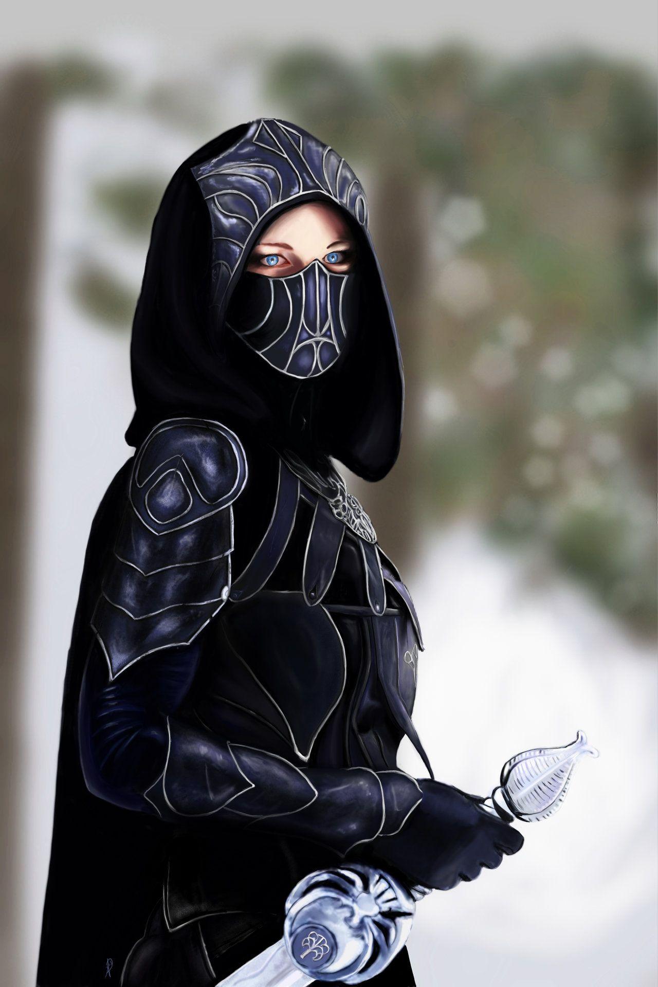 Female Assassin by AndyDragonPark.deviantart.com   Aralina ...