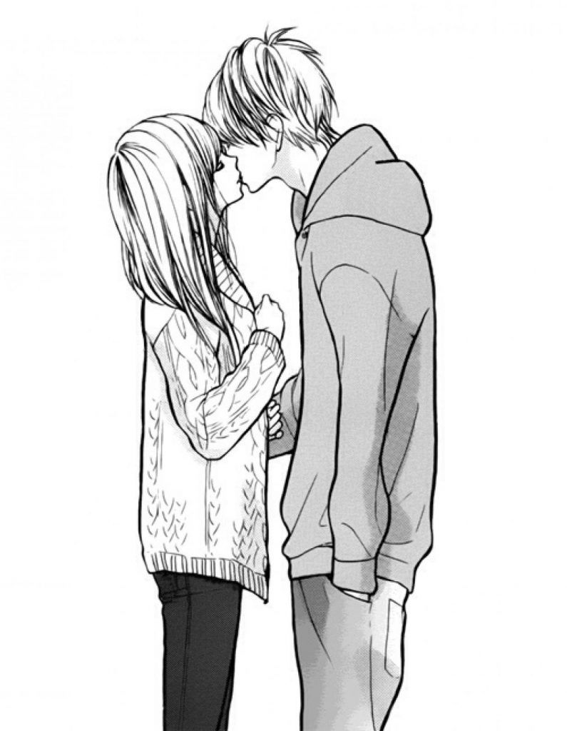 Krasivye Kartinki Dlya Srisovki Lyubov I Otnosheniya Sborka 11 Anime Couple Kiss Manga Love Manga Couple