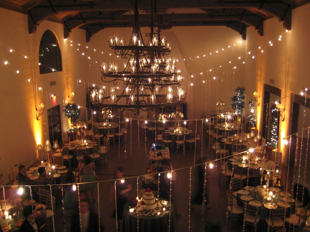Pin on our services - Indoor string lights ideas ...