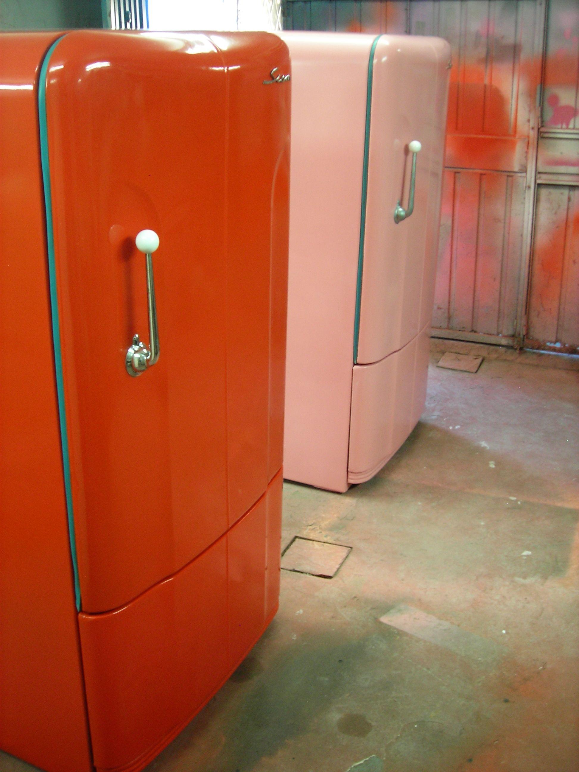 restauracion de heladeras antiguas