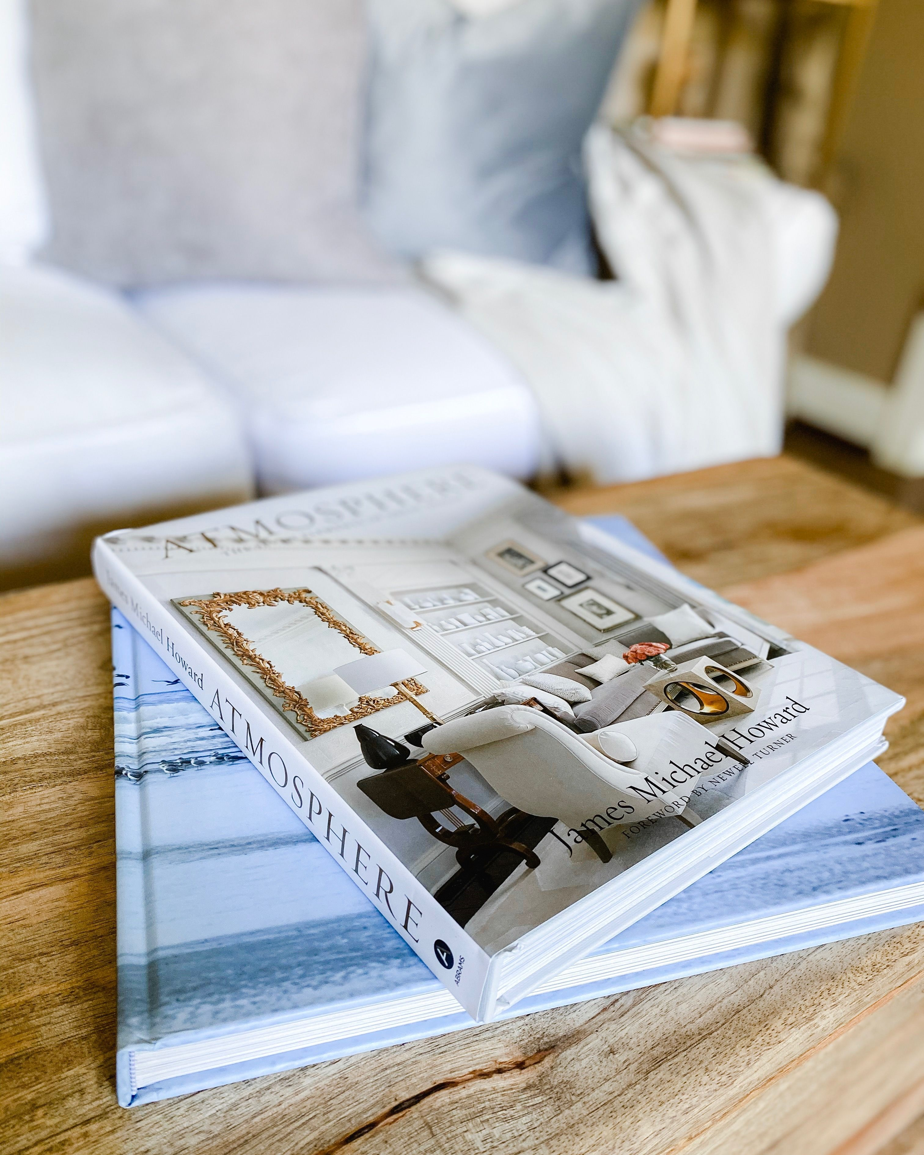 Decorate and style your coffee table and side table with beautiful books to share with guest and read for fun. Great decor for living room from Amazon.   #coffeetable #coffeetablebooks #homedecor #homestyling #homedecorinspo #stylinginspo #decorinspo #homedecorating