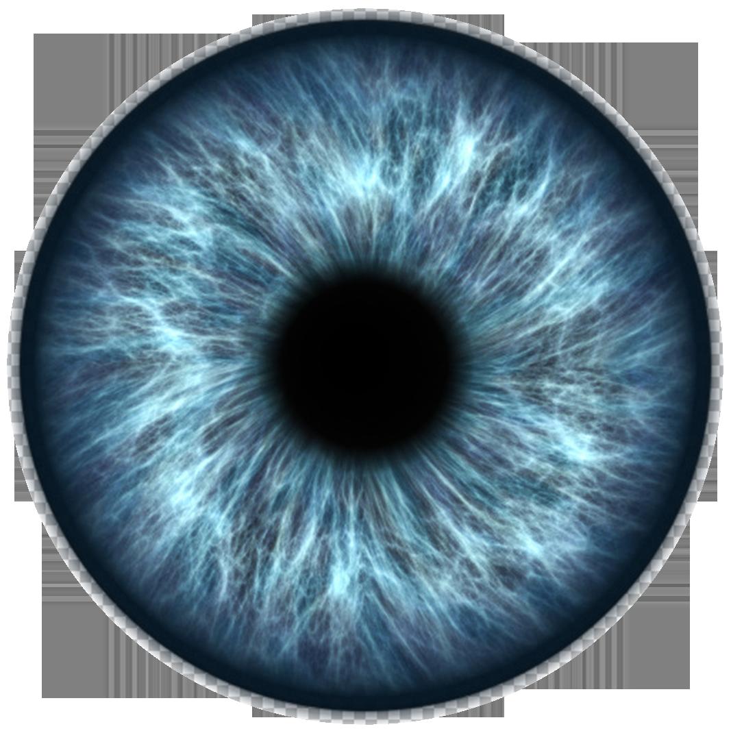 Blue Iris With Limbal Ring Png Texture On Transparent 150 Ppi Eye Texture Iris Eye Eye Drawing