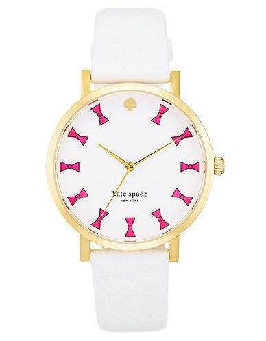 Kate spade watch.... I love bows!