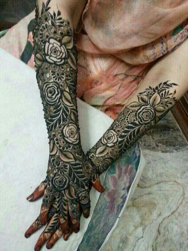 Black Henna Tattoo Dubai: Rose Rose So Many Rose