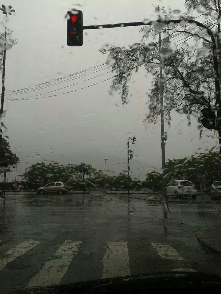 Rio de Janeiro com chuva!!!Lagoa Rodrigo de Freitas