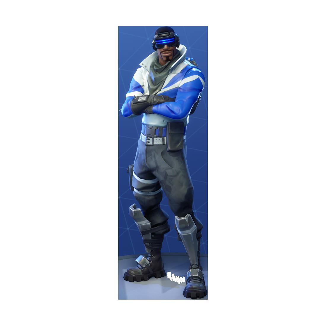 Fortnite Blue Striker PNG Image Fortnite, Battle, Striker