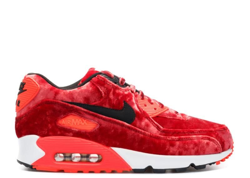 Nike Air Max 90 Red Velvet from the 25th anniversary pack