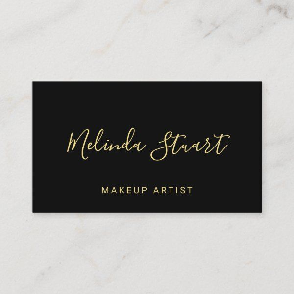 professional modern gold and black appointment  zazzle