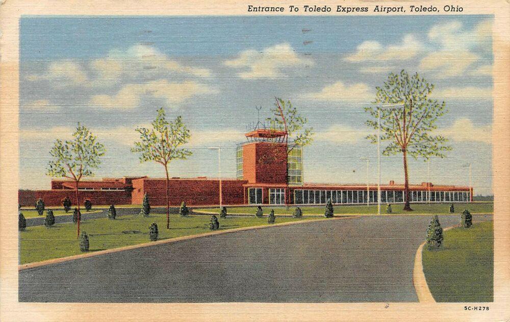 Details about Toledo, Ohio Entrance to Toledo Express