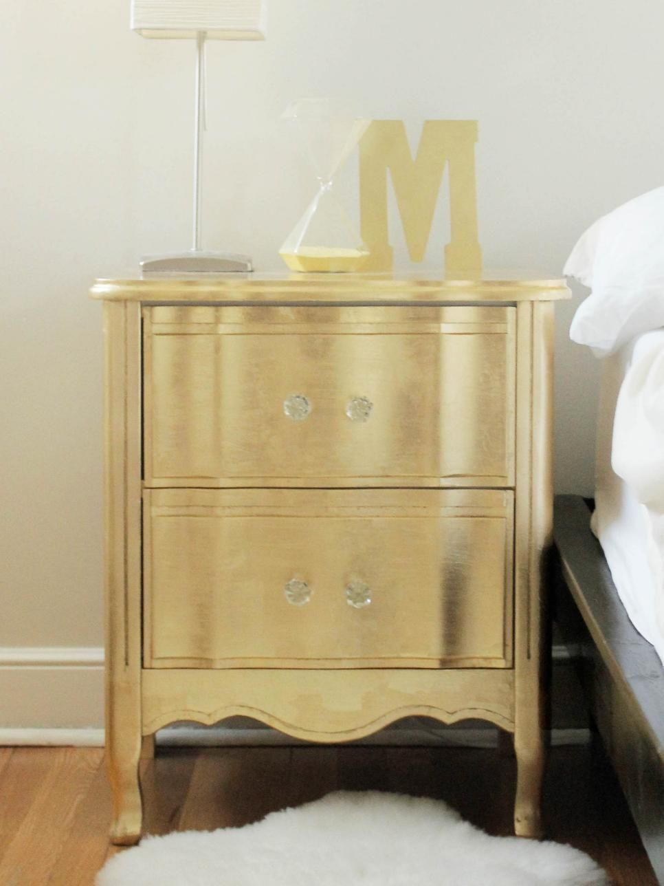 ideas for updating an old bedside tables | glasses, tables and