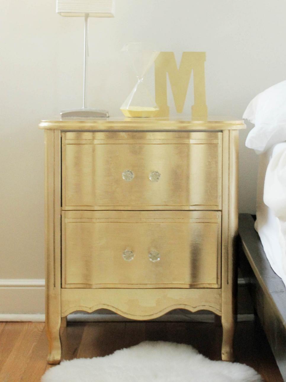Ideas For Updating An Old Bedside Tables Vintage Furniture Diy