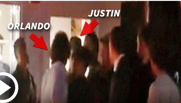 Captado En Vídeo Orlando Bloom Le Da Tremenda Trompa A Justin Bieber #Video