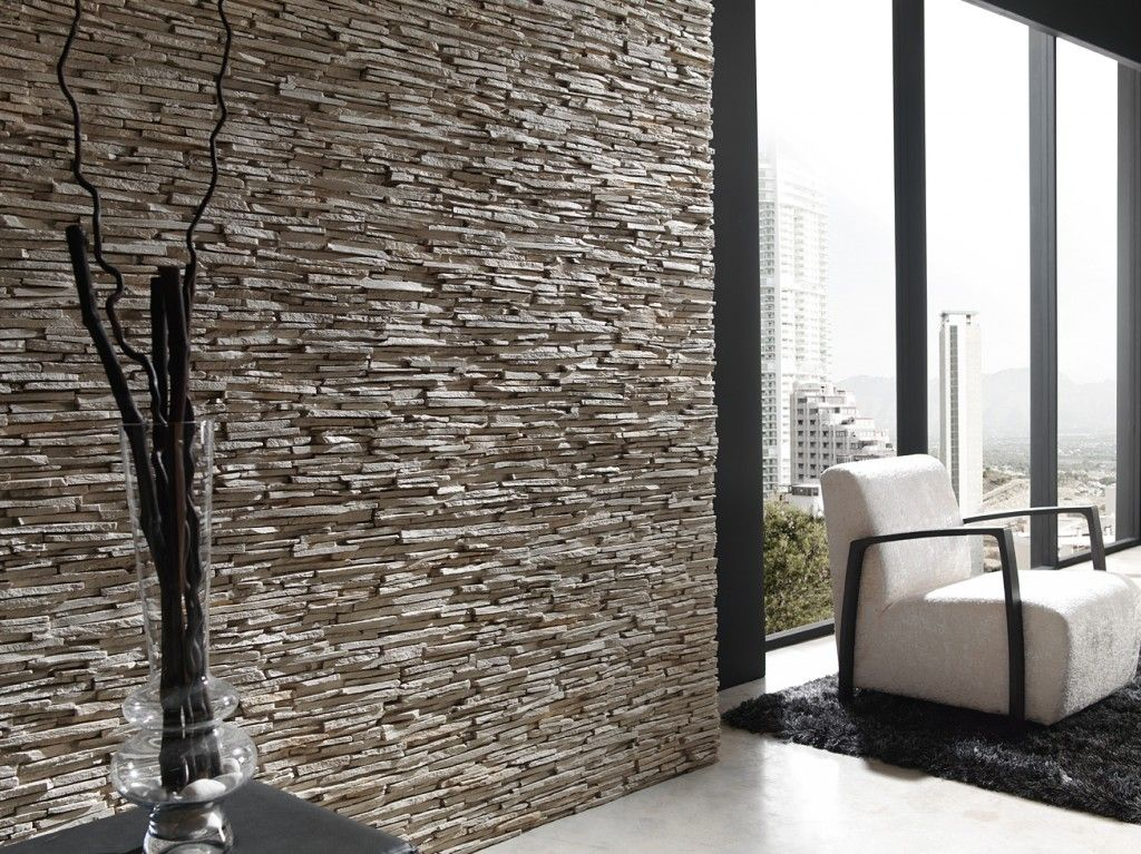 Panel piedra 440 pizarra alpes blanco arena fachadas panel piedra revestimiento de piedra y - Revestimiento paredes imitacion piedra ...